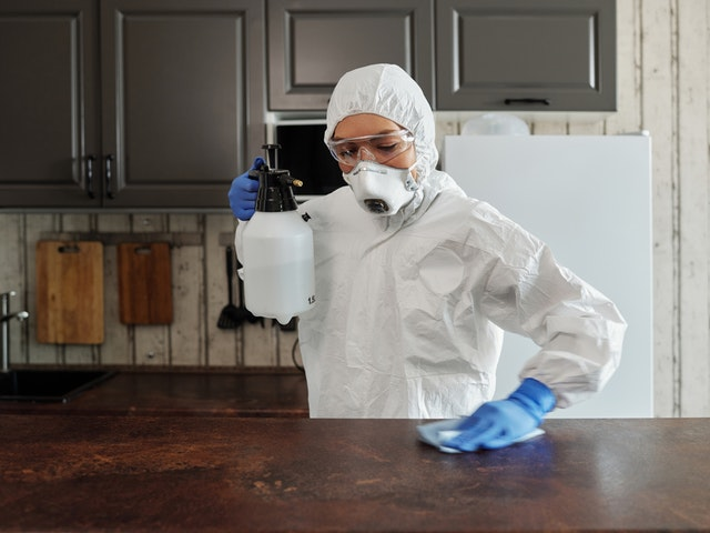 Sanitizing Your Room